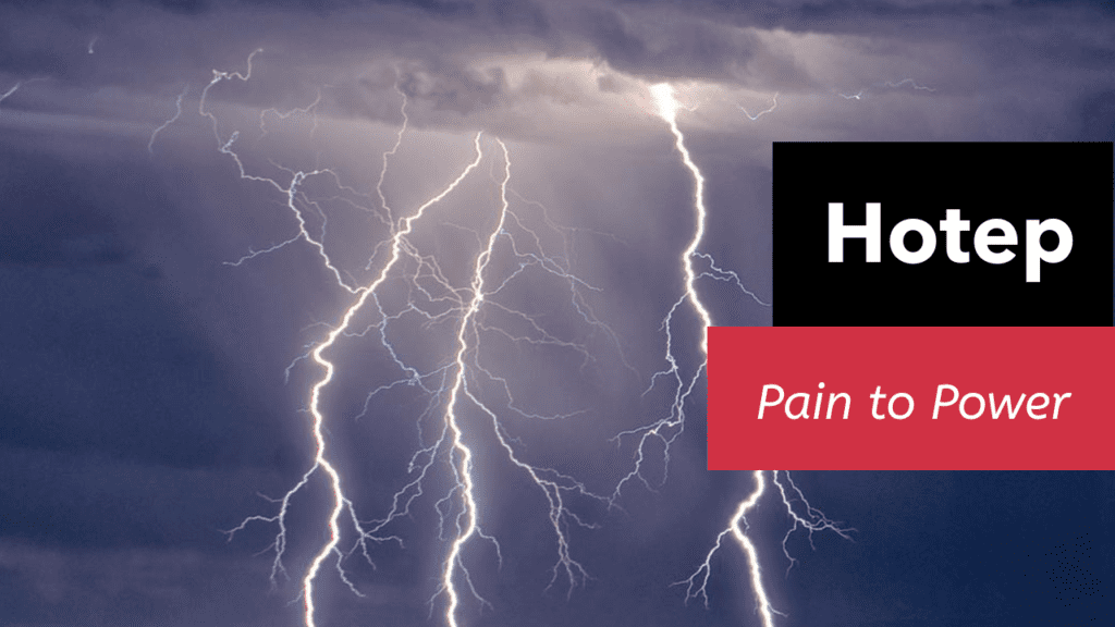 Pain to Power
