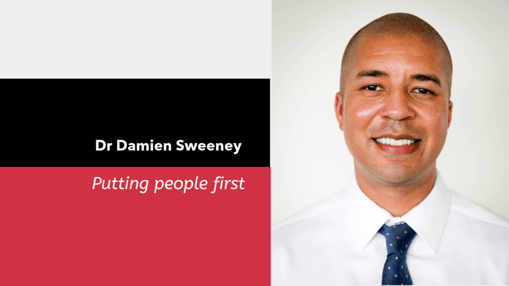 Dr. Damien Sweeney – Putting People First